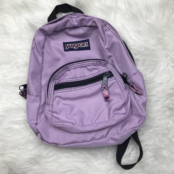 Jansport Handbags – Jansport Half Pint Mini Backpack Light Purple. JANSPORT  Right Pack New Olive Backpack … 59668dfff9278